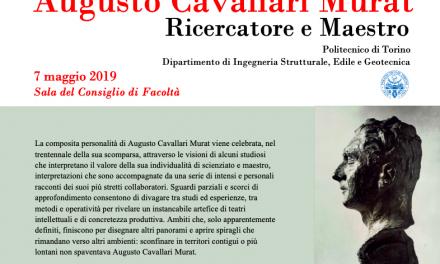 AUGUSTO CAVALLARI MURAT – RICERCATORE E MAESTRO